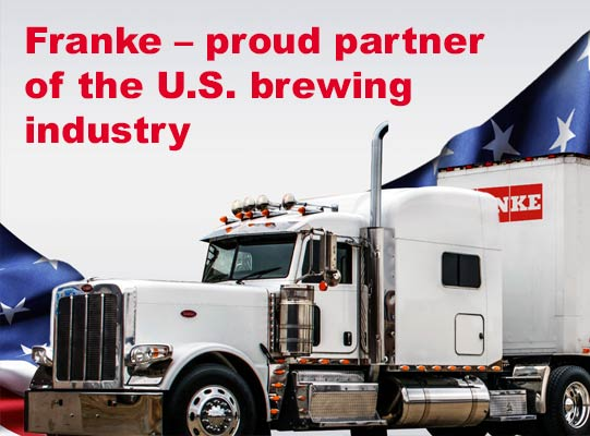 Mobile Keg Service for US brewers from FRANKE
